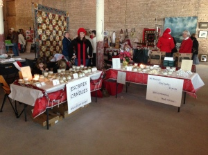 First Bazaar for My Candles! December 2012