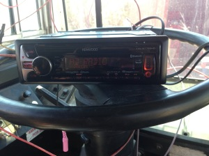 The New Radio! Excited about this one becaue it syncs with Pandora on your phone:) And it changes colors!